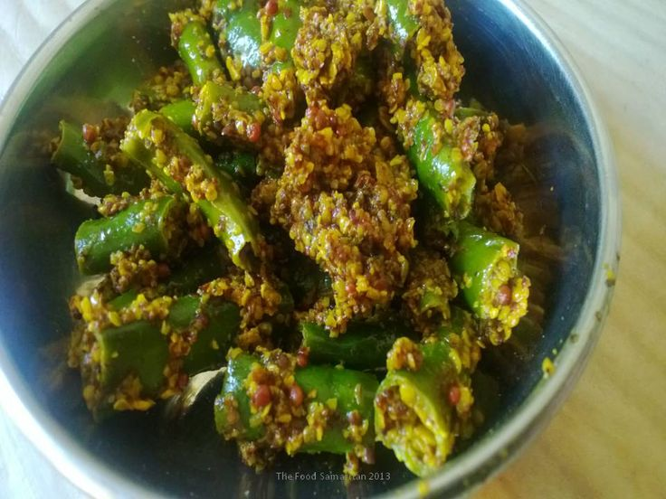 Green Chili Pickle from India...chechttp://thefoodsamaritan.com/green-chili-pickle/k out at :