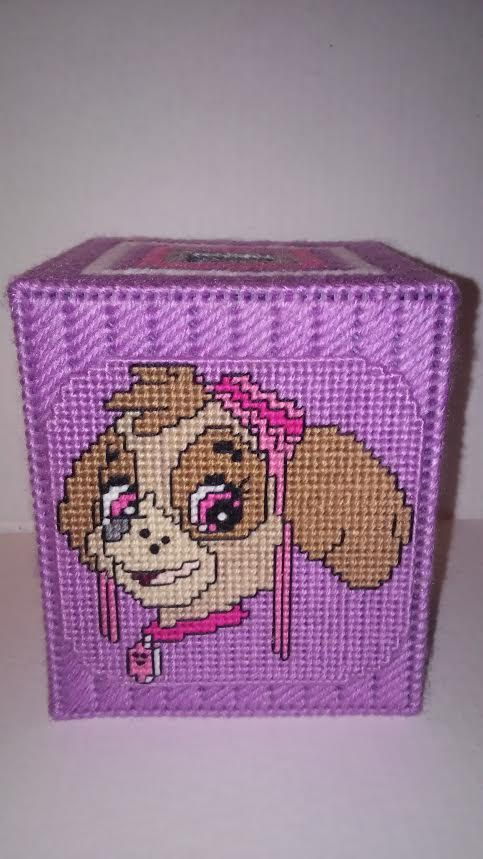 1707 best tissue box covers plastic canvas images on for Tissue box cover craft