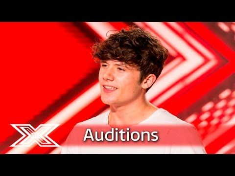 Ryan Lawrie takes on The Vamps' Oh Cecilia | Auditions Week 1 | The X Factor UK 2016 - YouTube