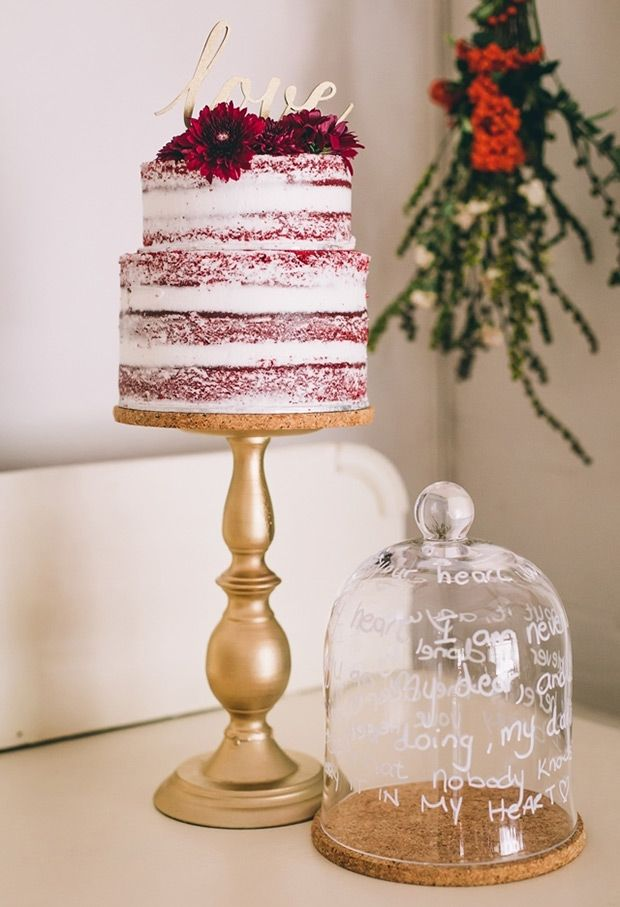 Delicious Red Velvet Wedding Cakes | www.onefabday.com