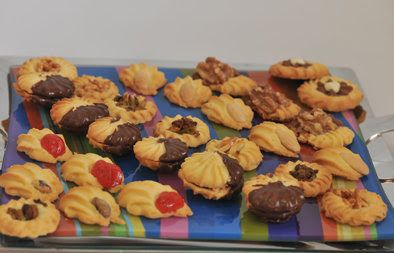 ISLAMIC COOKINGCLUB RECIPES: PETITE FOURS COOKIES