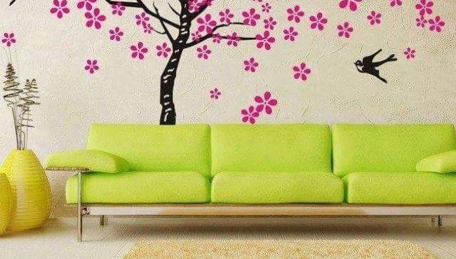 11 Idea Dekorasi Dinding Untuk Ruang Tamu Dan Bilik Tidur