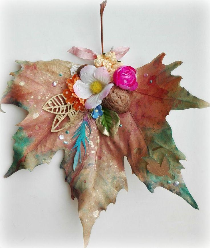 Őszi falevéldísz | Sugallatok