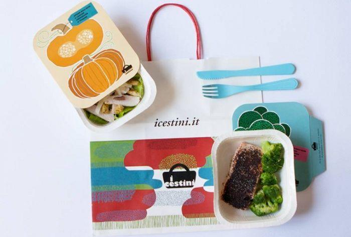 I Cestini sono l'ultima trovata del food delivery a Milano: e la cena arriva a domicilio in stazione, prima di salire sul treno