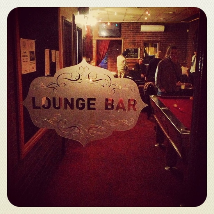 The Lounge Bar at the Daylesford Hotel