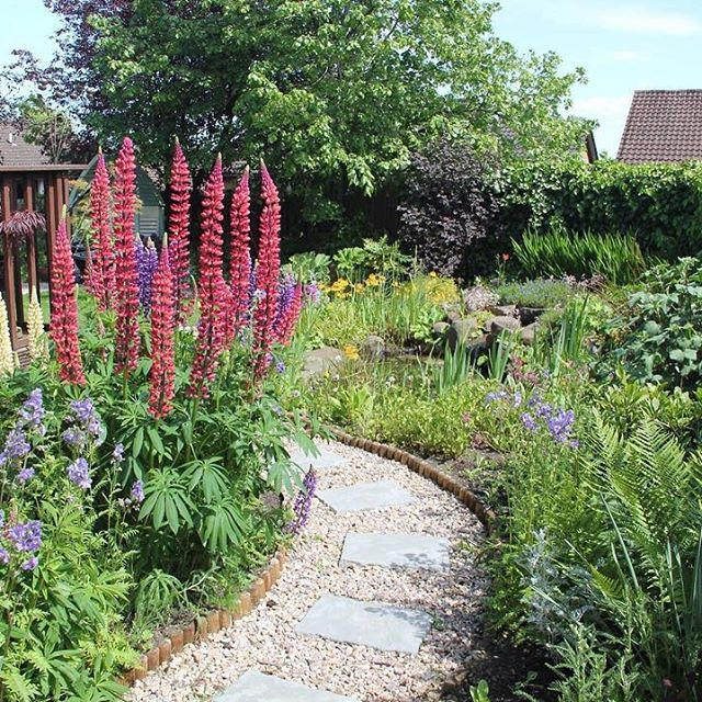 Merveilleux Garden Of The Day! Thanks To Allan Mees For Sending Me This Photo. The