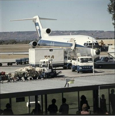 Perth Western Australia in the 1970's - PERTH AIRPORT 1970s