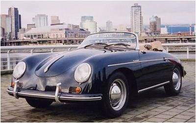 Porsche 356a Speedster Replica From Top Gun Kelly