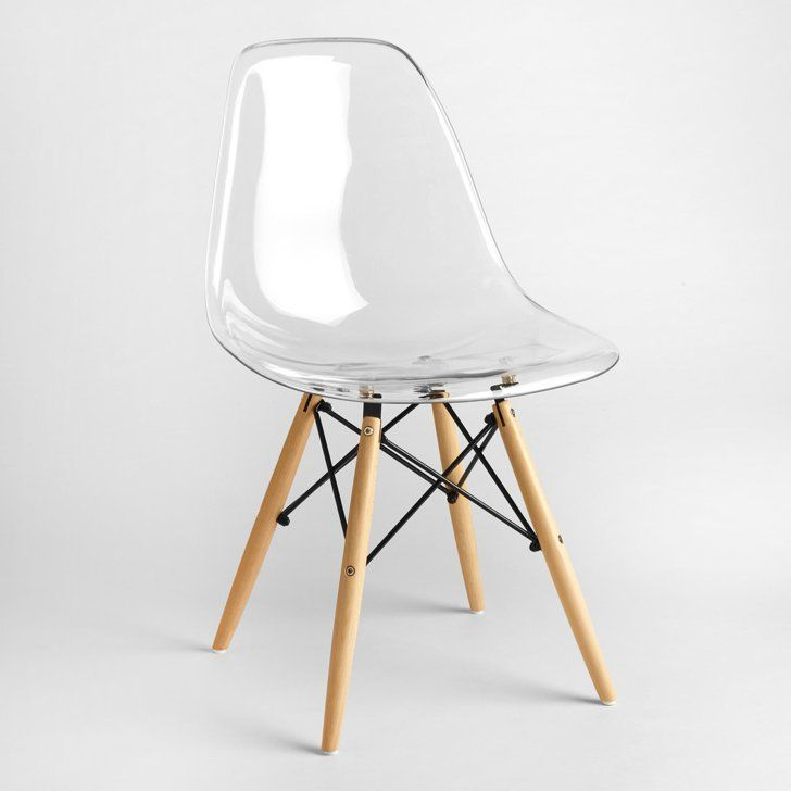 Molded Chairs | Clear chairs, Small scale furniture ...