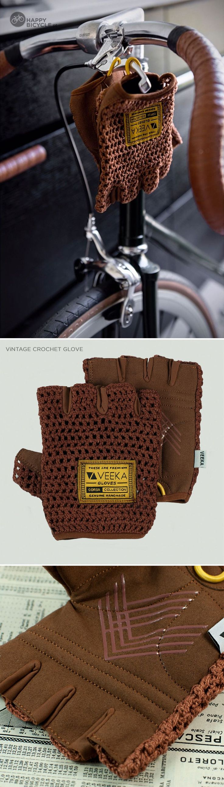 Ride it in Eroica's style :)  |  Vintage Bicycle Gloves  .  happybicycle.pt