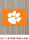 Clemson Tigers Fan Banner 2' x 3'