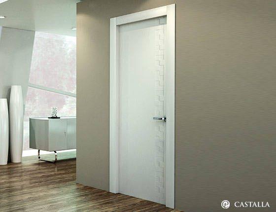 1000 images about serie lacada interior doors puertas for Puertas macizas blancas