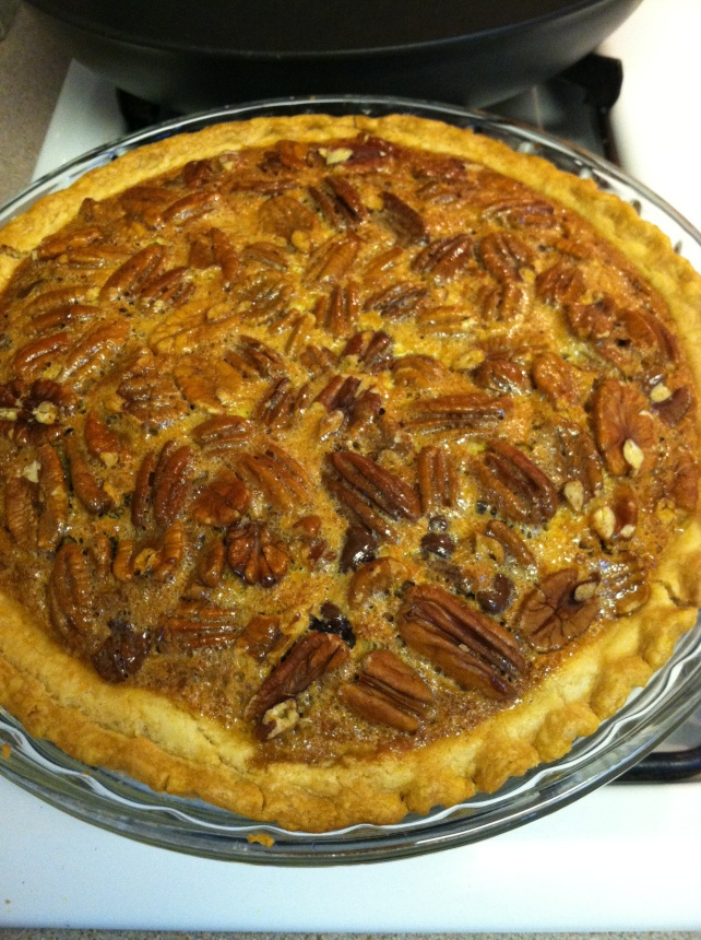 Jack Daniels Chocolate Chip Pecan Pie