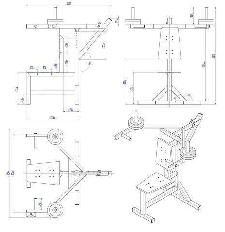 196 best plans to build your own gym images on pinterest for Gym blueprints