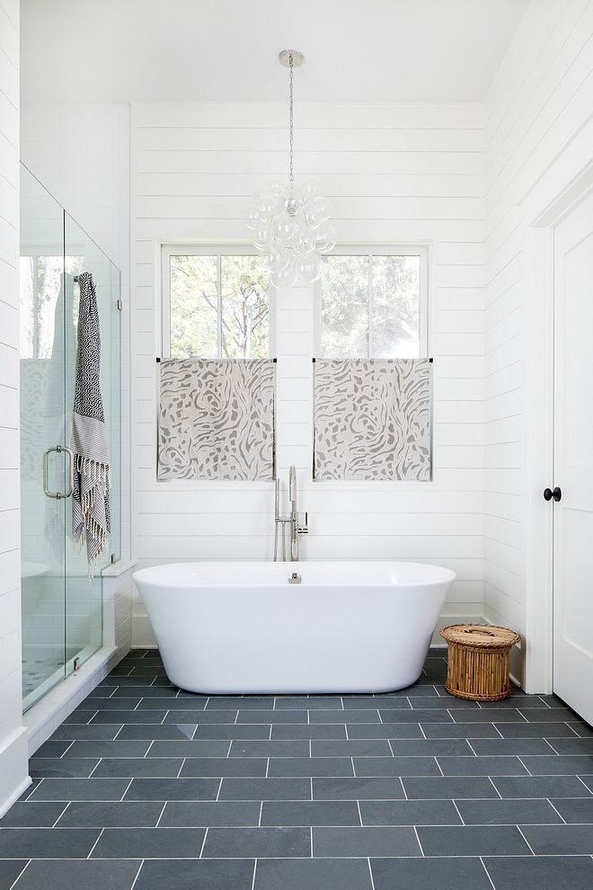 Great Tile Ideas For Small Bathrooms White Subway Tile Bathroom Shiplap Bathroom Bathroom Interior Design