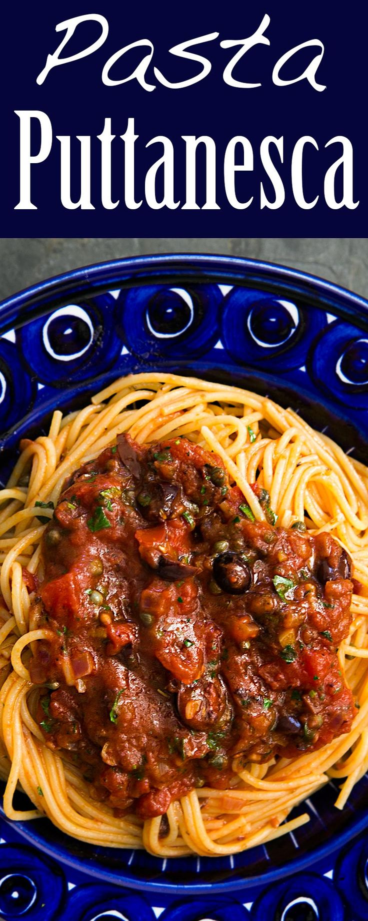Pasta Puttanesca – Rezept Favoriten