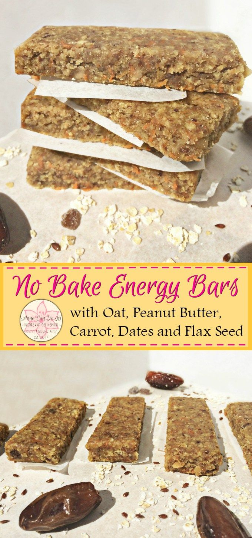 No Bake Energy Bars - Anna Can Do It!