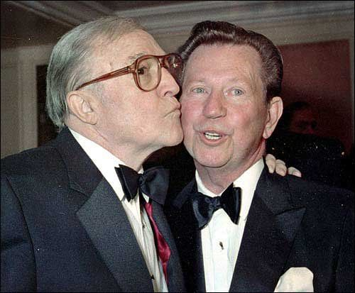Gene Kelly and Donald O'Connor, 1990                                                                                                                                                                                 More