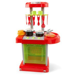 Small plastic play kitchen from big w