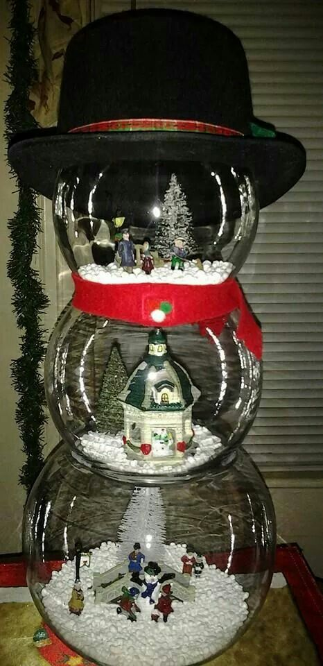 Fish Tank Christmas Tree