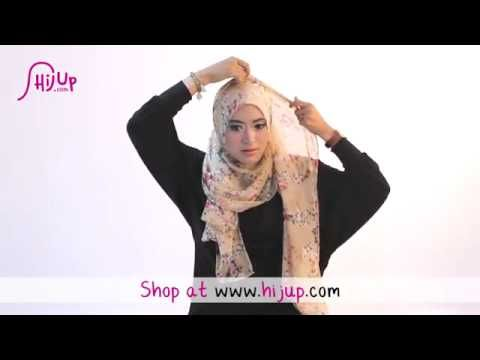 ▶ #29 Hijab Tutorial - Natasha Farani (Collaborated with HijUp) - YouTube