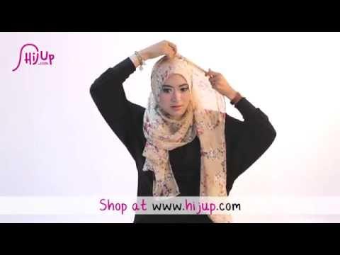 ▶ #29 Hijab Tutorial - Natasha Farani (Collaborated with HijUp) - YouTube