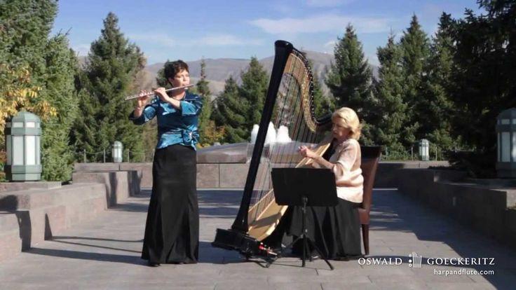 Danny Boy-Londonderry Air - Best Instrumental Harp & Flute Music Irish Song. Tamara Oswald, Harp and Jeannine Goeckeritz, Flute perform O Danny Boy Londonderry Air Arranged by Sam Cardon. Salt Lake City, Utah.