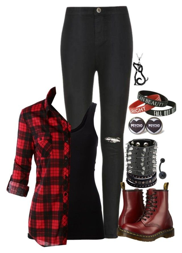 """""""Untitled #2517"""" by nikkimarie-1123 ❤ liked on Polyvore featuring Ally Fashion, Theory, LE3NO, Dr. Martens and Replay"""