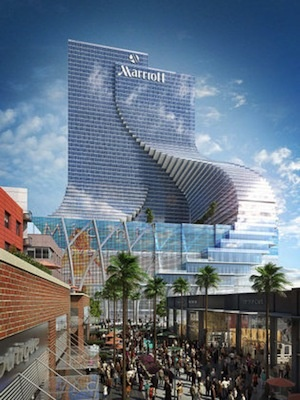 Marriott Miami World Center 600ft 58 Fl
