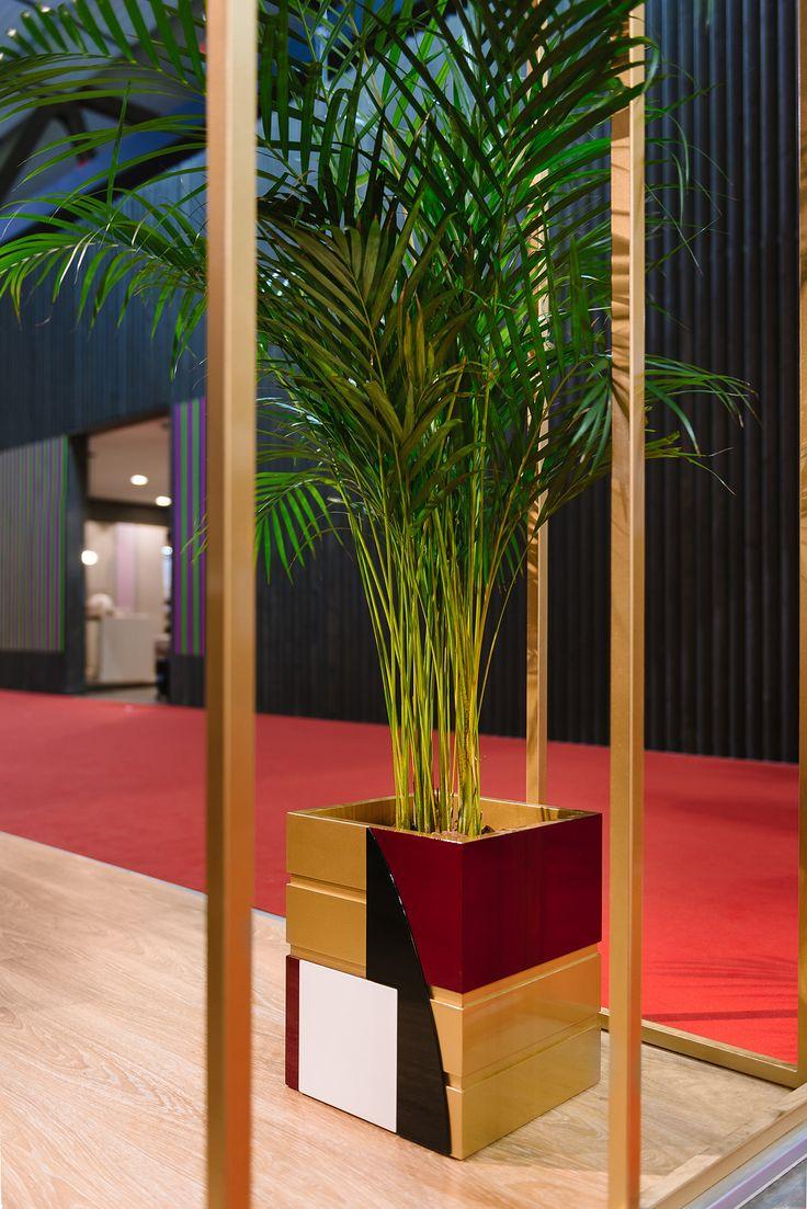 #divina floor pot design Valentina Fontana for #altreforme @isaloni #lesfemmesdealtreforme #Novecento #HomeSweetHome New collection 2016 #designweek #interior #home #decor #homedecor #furniture with #woweffect #aluminium #art #architecture #design #decoration #interiordesign #fashion #style #home #hotel #milan #italy #madeinitaly #bespoke #luxury #furnishing