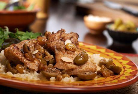 Moroccan Braised Chicken