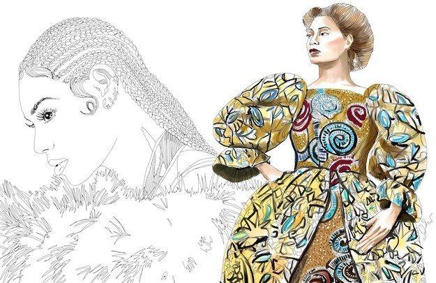 Ladies, let's get in formation! Illustrator yang satu ini salah satu dari girls who run the world!