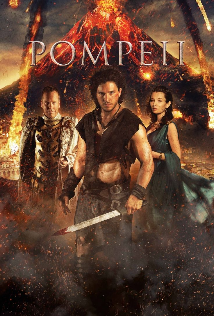 Pompeii (I) (2014) UV Movie Poster v2