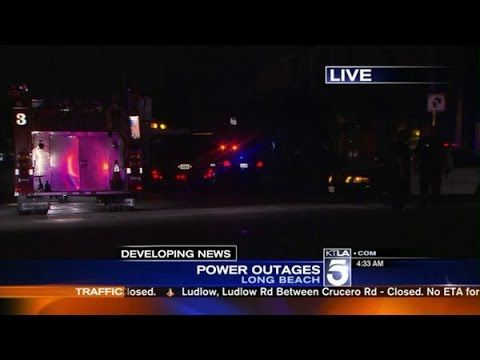 Third Power Outage In 2 Months Affects Thousands in Long Beach