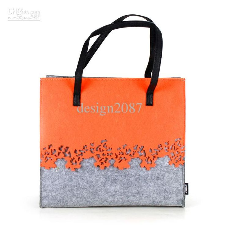 Wholesale Women Handbag - Buy Special Laser Cut Scrollop Felt Leather Eco-friendly Women Tote Bag Shoulder Bag Purse Handbag, $21.89   DHgate
