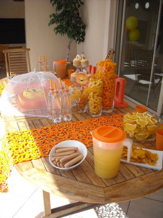 13 Best Images About Lion Birthday Party On Pinterest