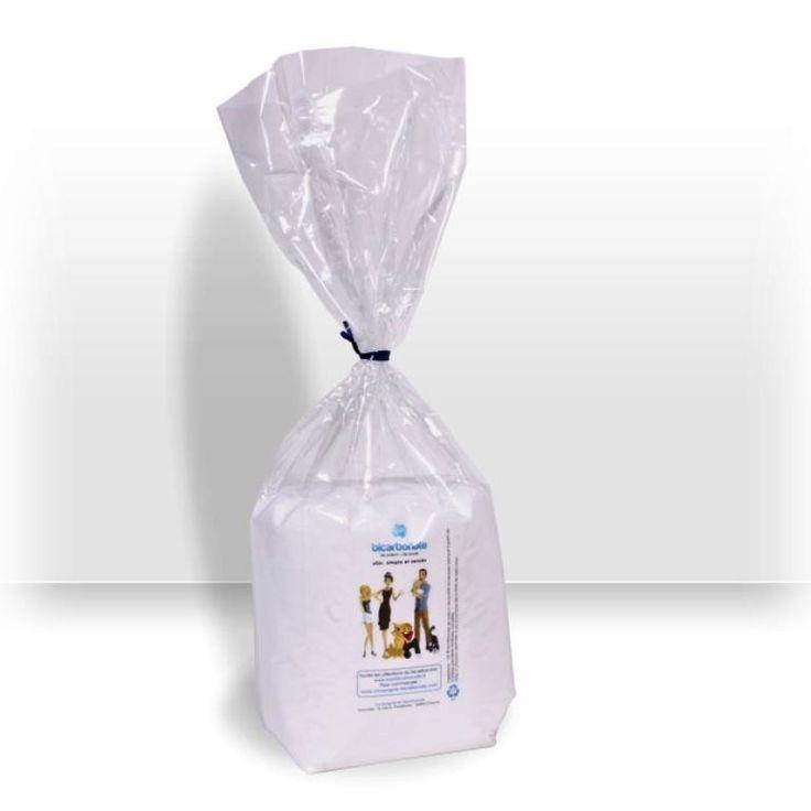 """Sac recharge """"Open-up"""" 1 kg (3,54 €/kg) - Bicarbonate de qualité alimentaire"""