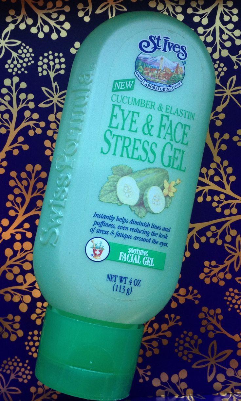 St Ives Eye Amp Face Stress Gel Cucumber Amp Elastin 4 Oz