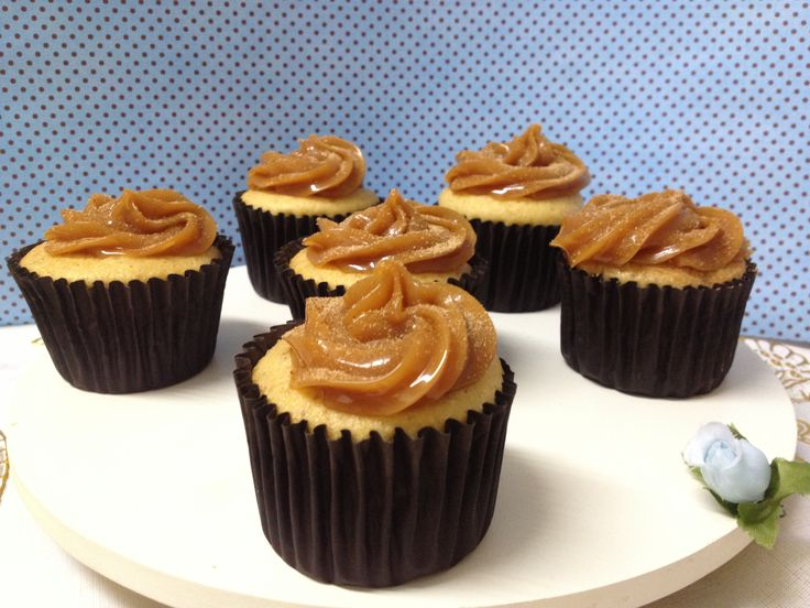 Cupcake sabor churros! yumi :)