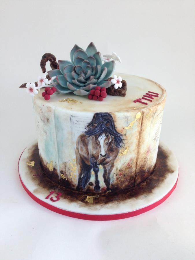 Horse cake - http://cakesdecor.com/cakes/278497-horse-cake