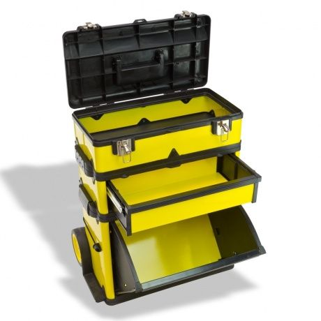 Dema robuster Werkzeugkoffer Werkzeugtrolley Werkzeug Koffer Trolley MJ 2069   Detec-Handel.de