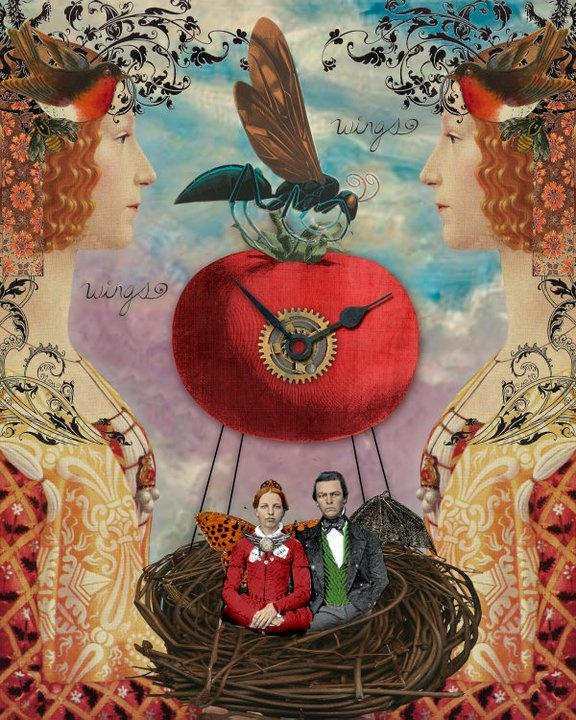 """""""Things With Wings""""  by the Persnickety Chick, Amber Tabangay, all rights reserved"""