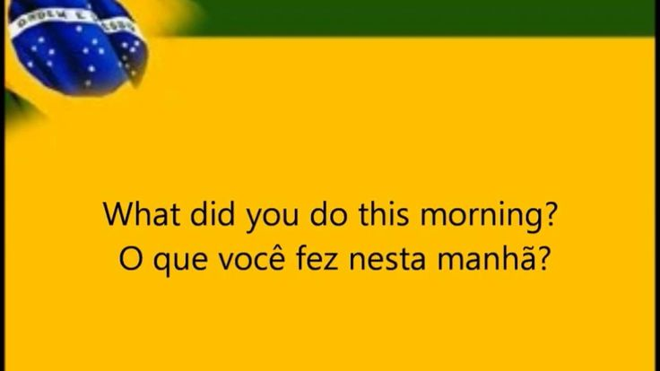 500 Basic Portuguese Phrases For Beginners