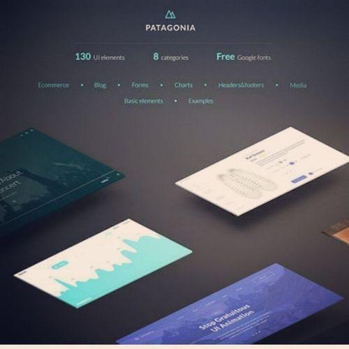 designeour:    Patagonia #UI #Kit by...