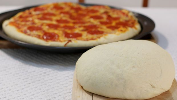 Amazing Homemade Pizza Dough