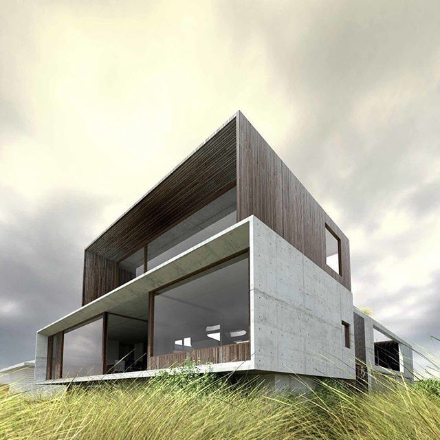 My favourite material combination!! #concrete #wood Project by: Auhaus Architecture Image via: @auhaus #homedesign #lifestyle #style #designporn #interiors #decorating #interiordesign #interiordecor #architecture #landscapedesign
