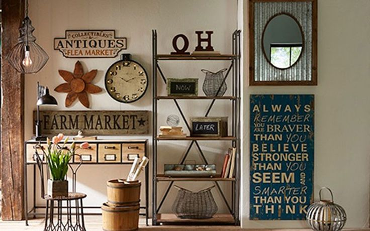 Vintage Wall Decor Ideas: 17 Best Images About Rustic Decorating On Pinterest