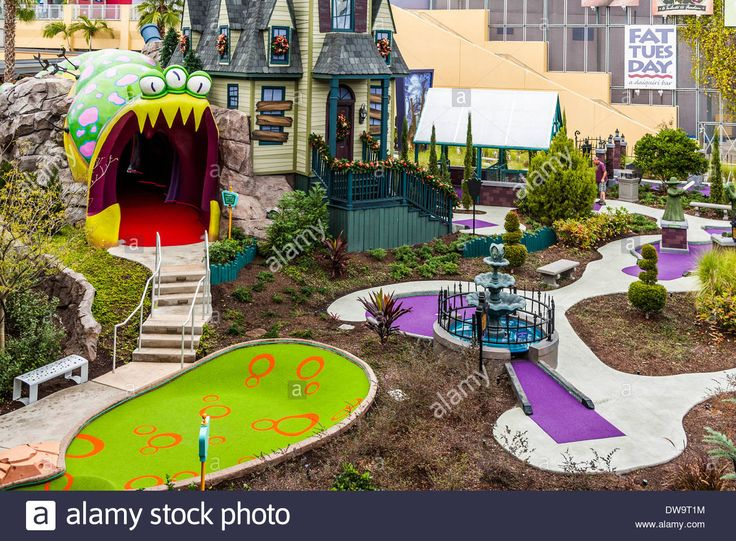 Putt Putt Golf Course At Citywalk In Universal Studios, Orlando ...