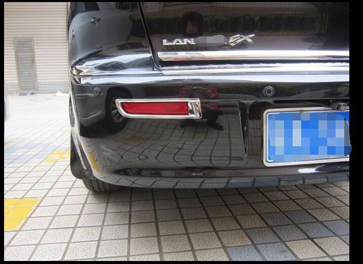 ABS Rear Fog Light cover Trim For Mitsubishi Lancer 2010-2013