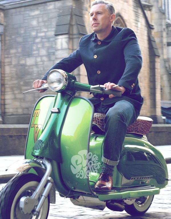 Shaun's series 2 by The Scootographer, via Behance
